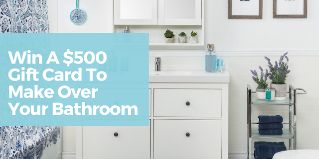 WIN a Bathroom Makeover - Ontario Residents Only