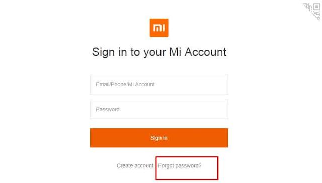Cara Mengembalikan Akun Mi Cloud yang Lupa Password