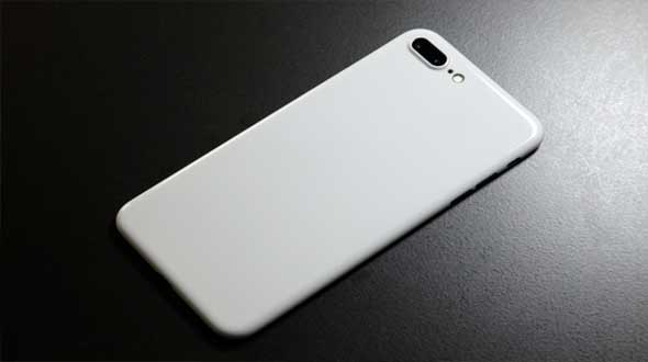 Jet White iPhone