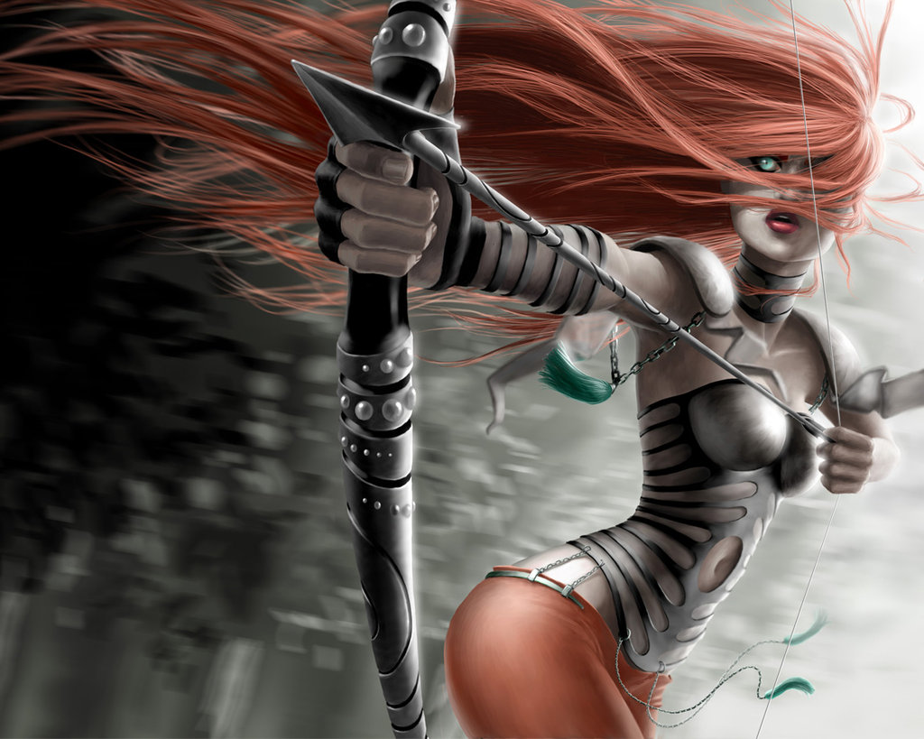 Archer Warrior Elves Fantasy Art Wallpapers Hd: Character Portraits: Archers