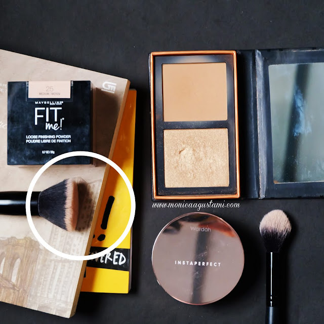 review maybelline fit me loose finishing powder