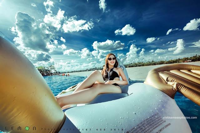 Beautiful Vietnamese girl bikini vol 77 4