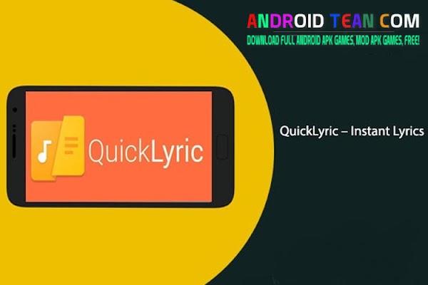 QuickLyric – Instant Lyrics Premium 3.7.4a [Full] APK