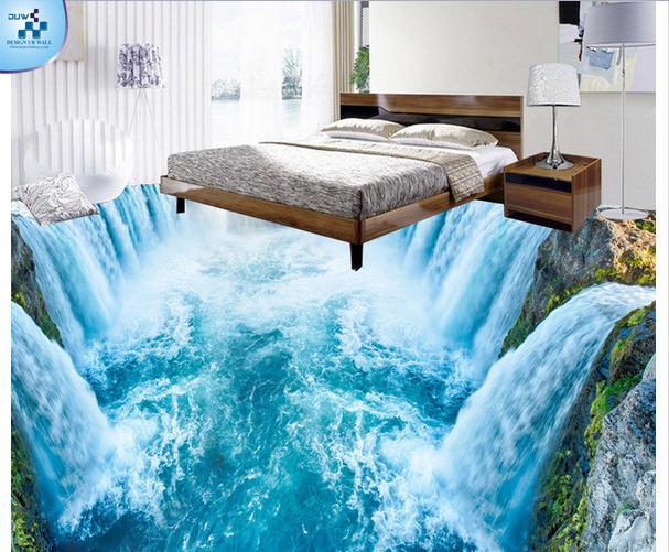 imported wallpaper merchant: 3d flooring custom waterproof