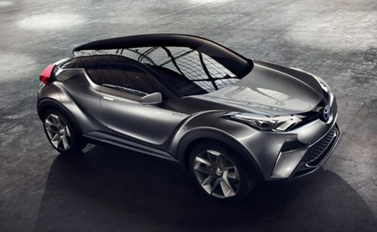 "2018 C-HR is: It's a ""concept"" version of a crossover SUV"