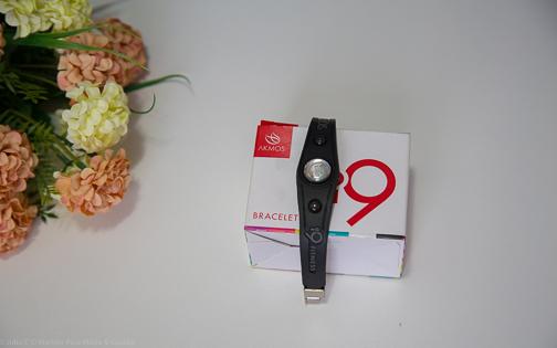 Bracelet i9fitness da Akmos - pulseira do equilíbrio com infravermelho