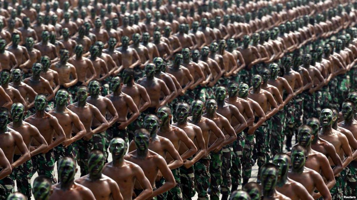 HUT TNI ke-72 TNI, Cilegon, Banten
