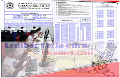 Download LJK SD SMP Sederajat