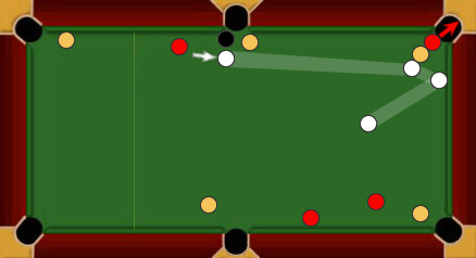 blackball pool rules foul