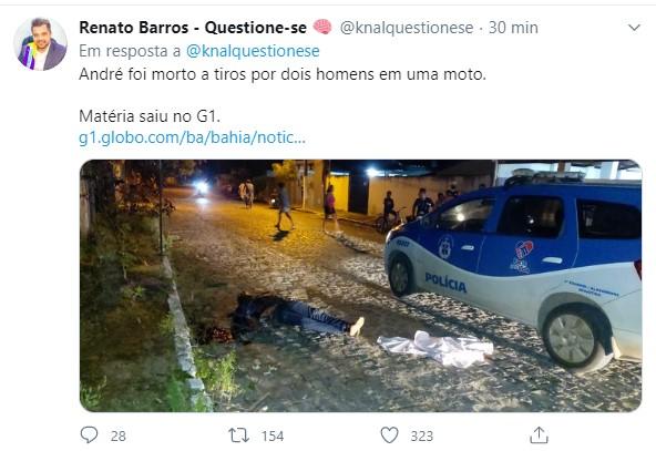 Cidadão grava vídeo informando que prefeito estava lhe ameaçando de morte e em seguida é assassinado