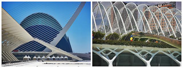architektura Oceanarium, Walencja Hiszpania