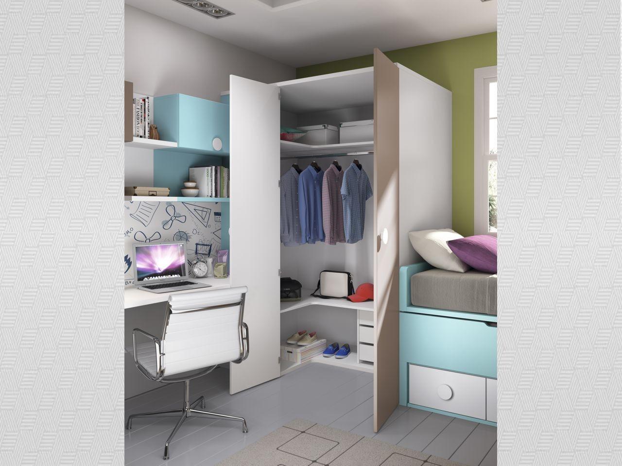blog dormitorios juveniles com armarios de rinc n para