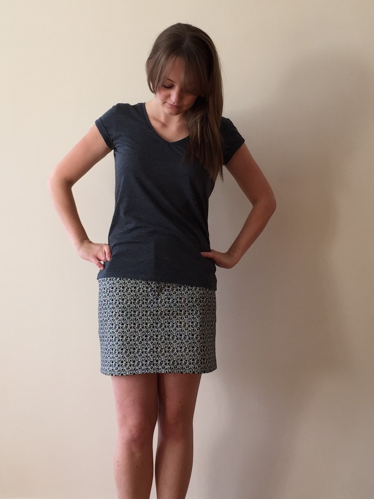 0ee0512c860981 Geometric Moss Mini Skirt | Diary of a Chain Stitcher | Bloglovin'