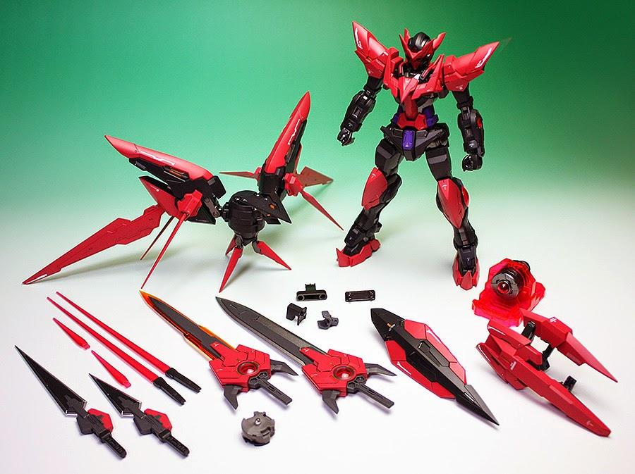 GUNDAM GUY: MG 1/100 Gundam Exia Dark Matter - Painted Build