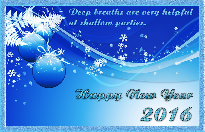 Happy New Year Greetings eCard 2016