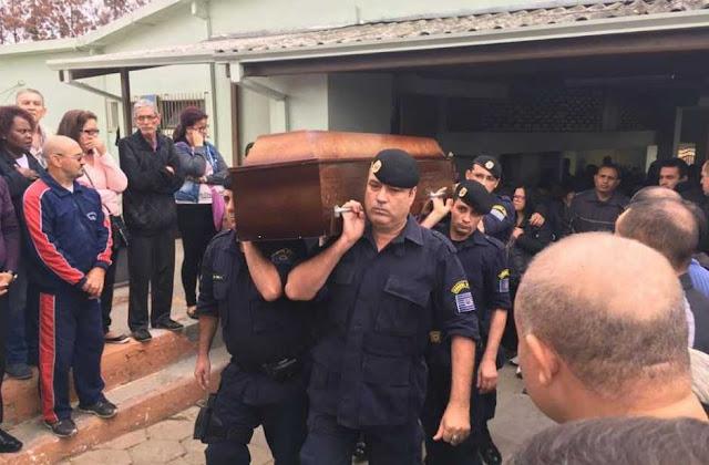 Guarda Civil assassinado é enterrado em São José dos Campos