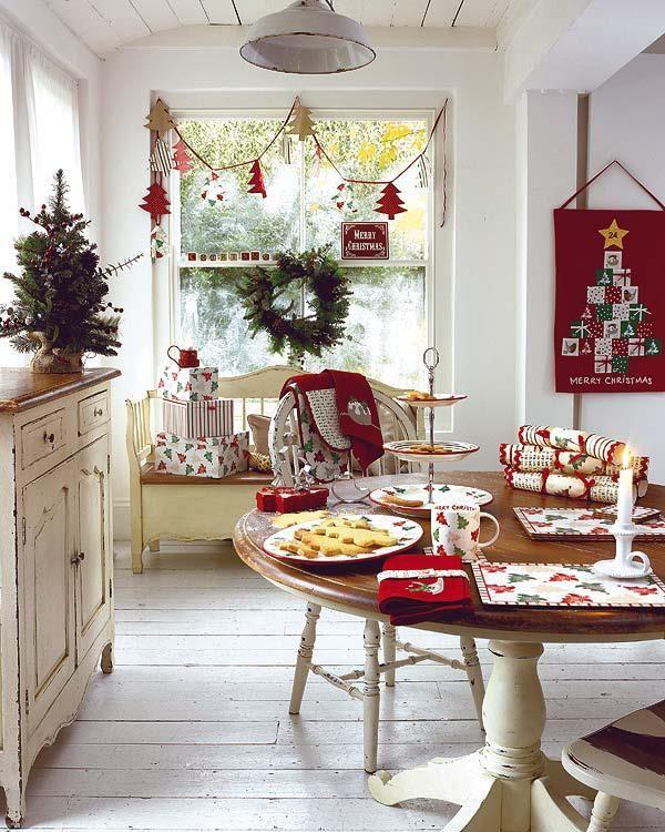 Cute Pinterest: Cozy Christmas Kitchen Decor Ideas
