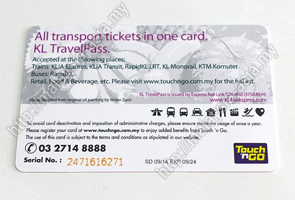 Kad KL TravelPass