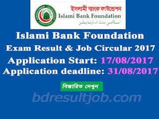 Islami Bank Foundation Exam Result and Job Circular