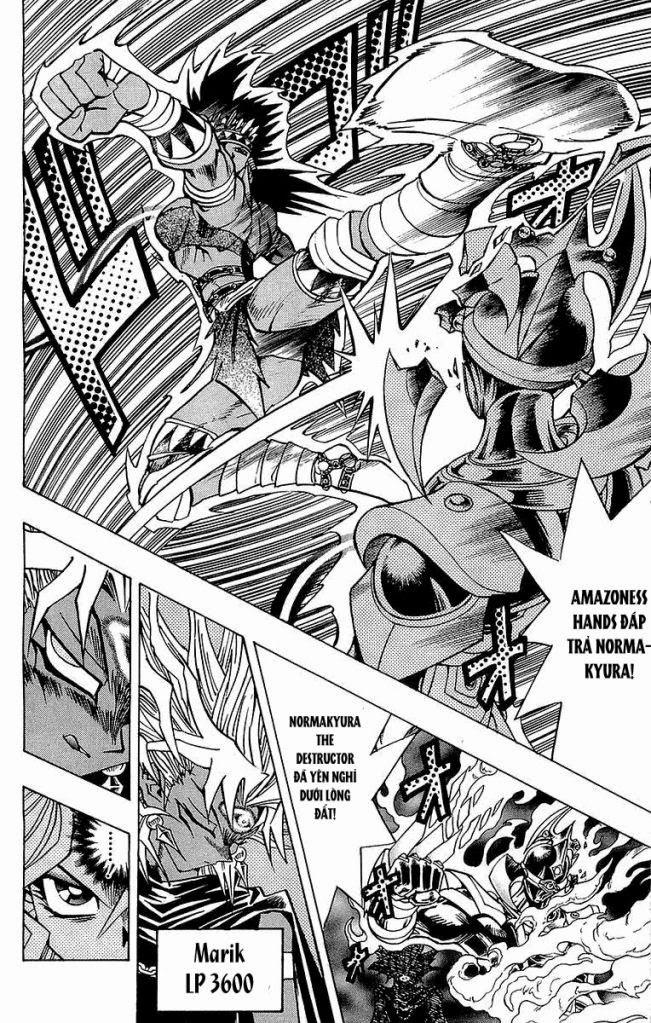 YUGI-OH! chap 221 - vị thần giáng thế trang 11
