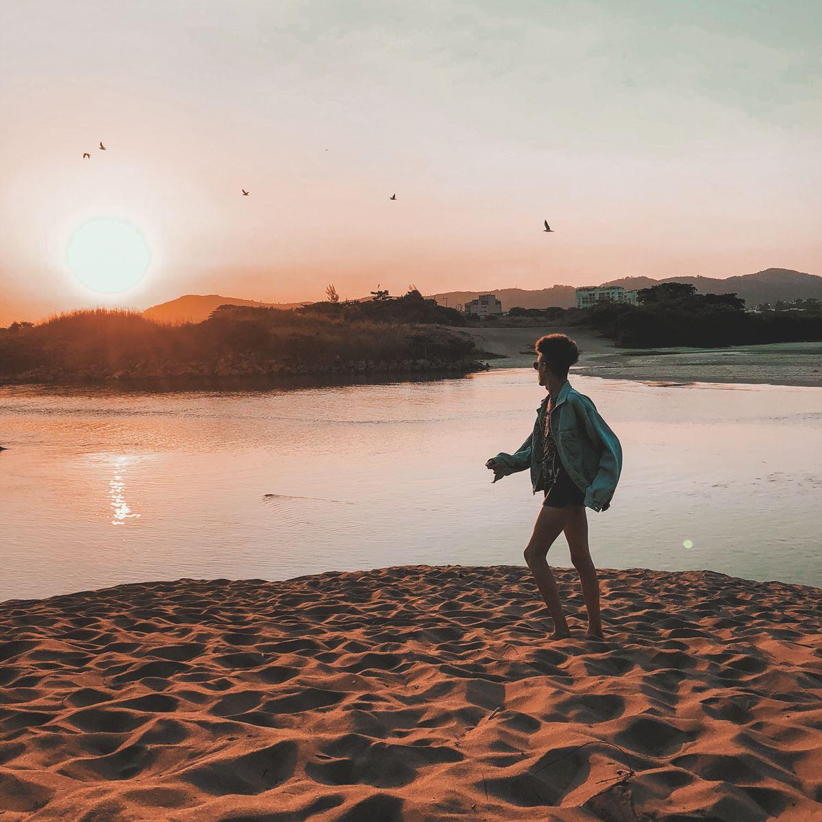 Inspirações de fotos de looks na praia