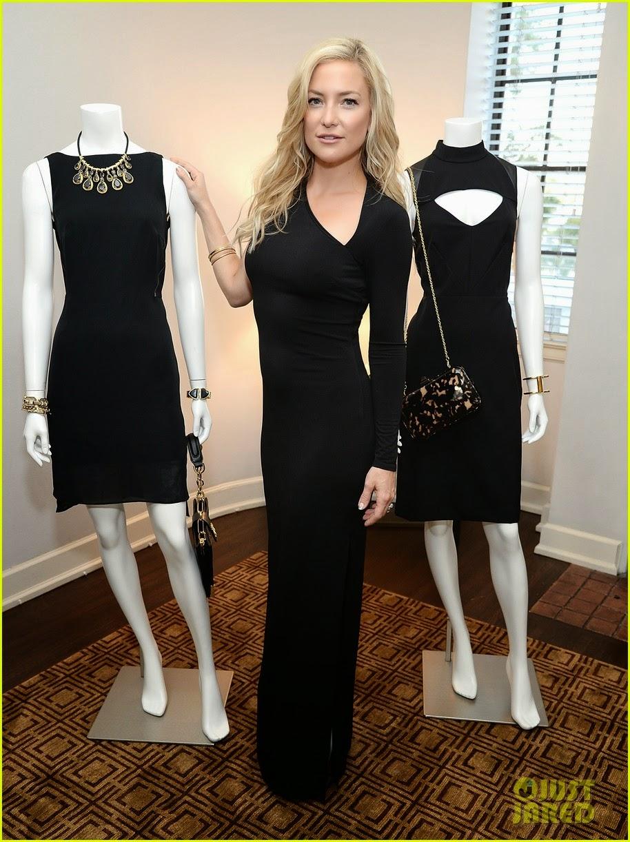 Celeb Diary: Kate Hudson helps celebrate the Little Black ...