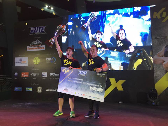 Panagbenga Hunk Renz Lou Lagria Bagged Kix R U Tough Enough Grand Prize
