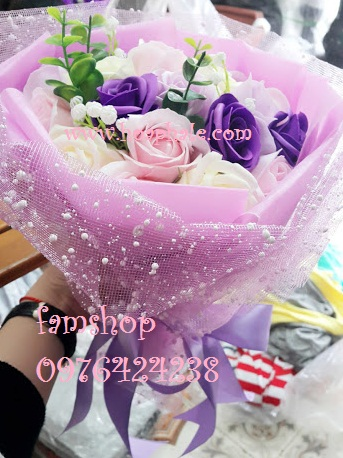 Hoa sap thom vinh cuu tai Bac Tu Liem