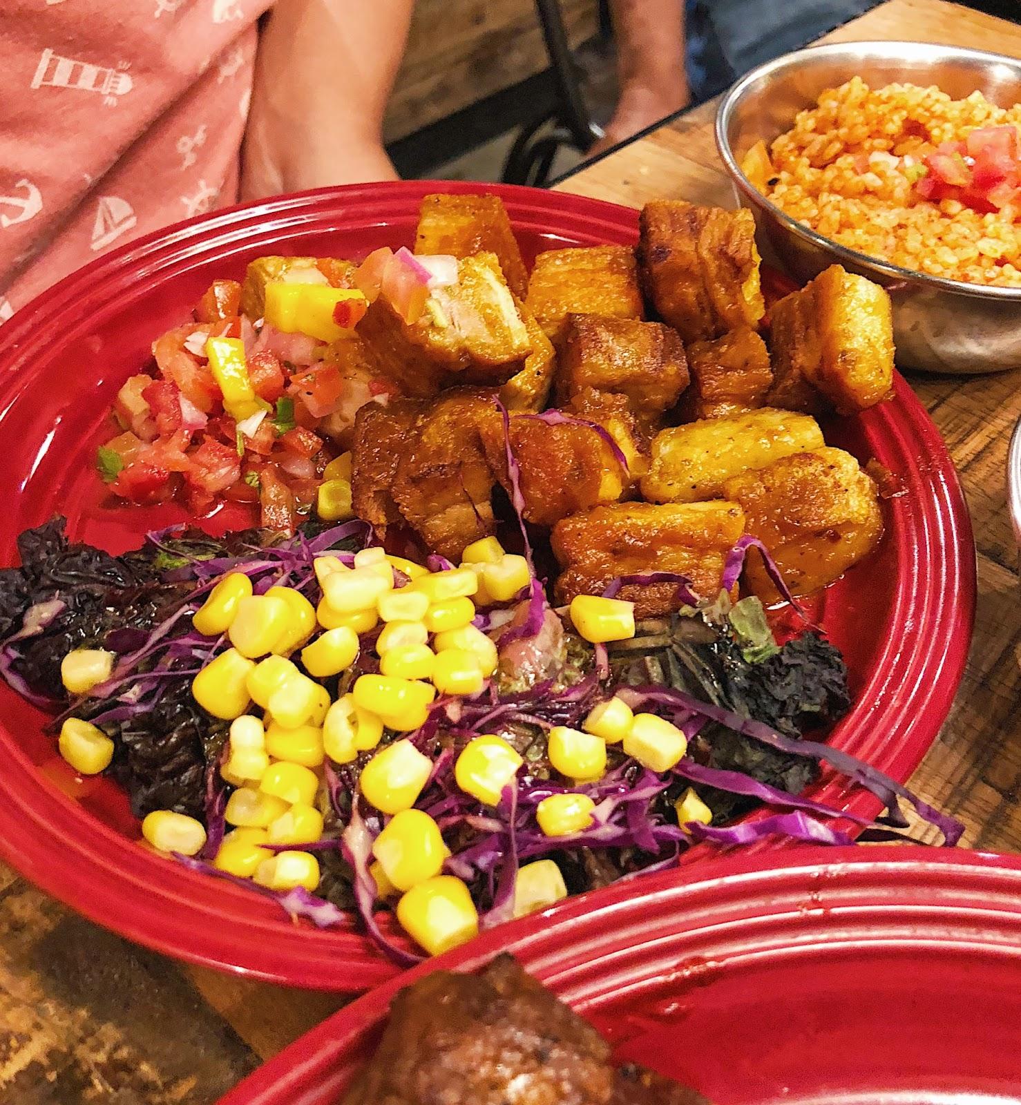 Crispy pork belly w/ mango salsa - Gringo