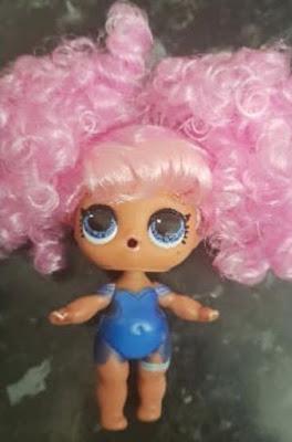 Игрушка Лол Сюрприз в пушистом розовом парике