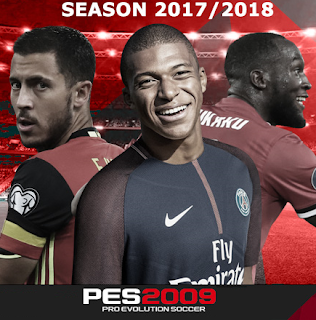 PES 2009 New Season Patch 2018 Option File 18/09/2017 Season 2017/2018