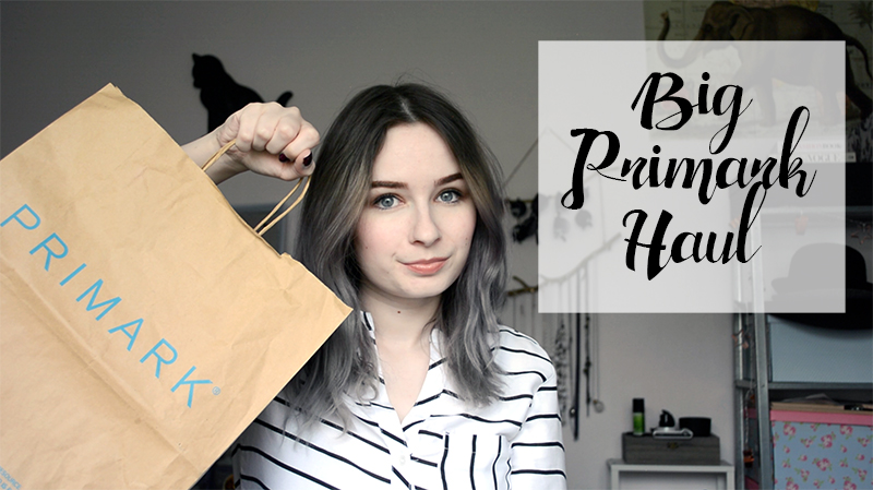 Big Spring Primark Haul Try On April 2016 Video fashion blogger vlogger