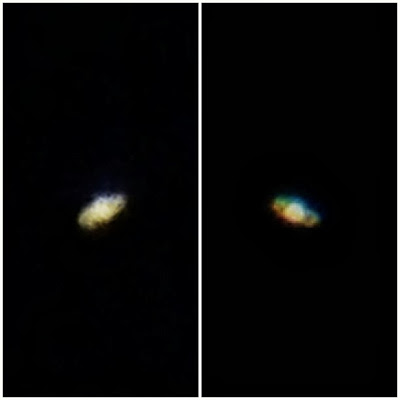 Saturn digiscoping through meade 285