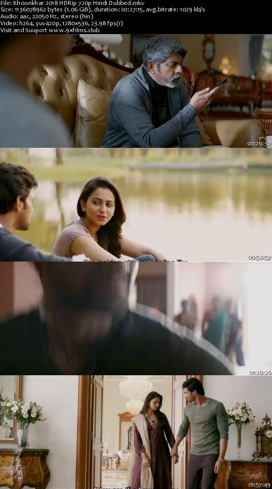 Khoonkhar 2018 HDRip 720p Hindi Dubbed 1GB