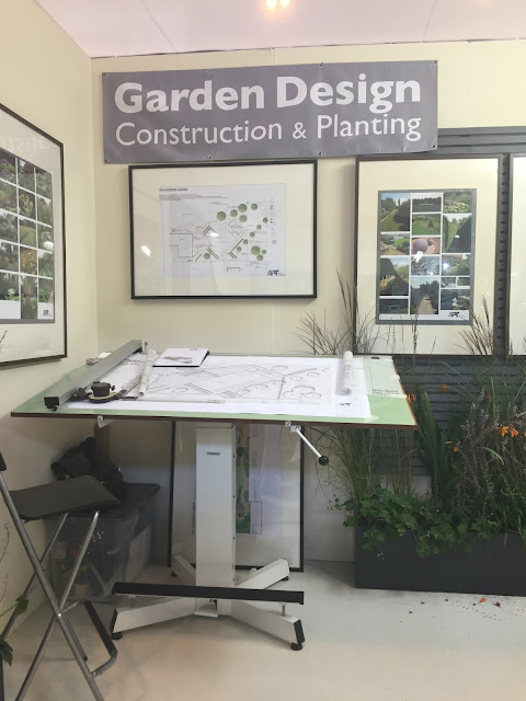 Garden Design Blueprint Table