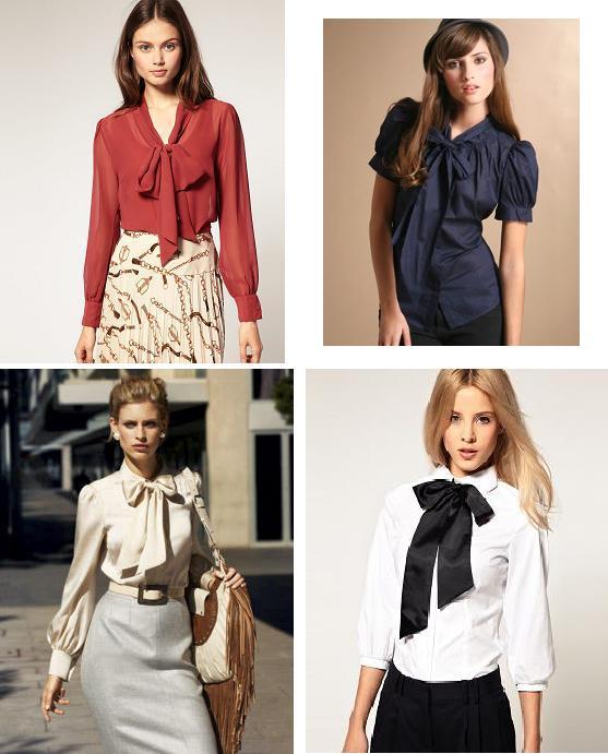 6f956735e9a2 Σήμερα θα μιλήσουμε για τις αγαπημένες μας Bow-blouses!Έτσι αποκαλούνται οι  μπλούζες και τα πουκάμισα που στο μέρος του γιακά δένουν με φιόγκο!Όπως  αυτές
