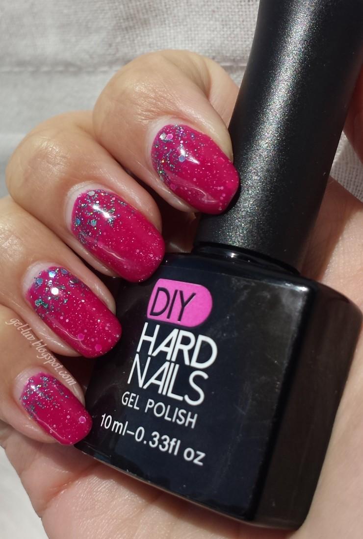 "Gel-Luv: A GEL Polish Blog!: DIY Hard Nails ""Blue Cocktail"