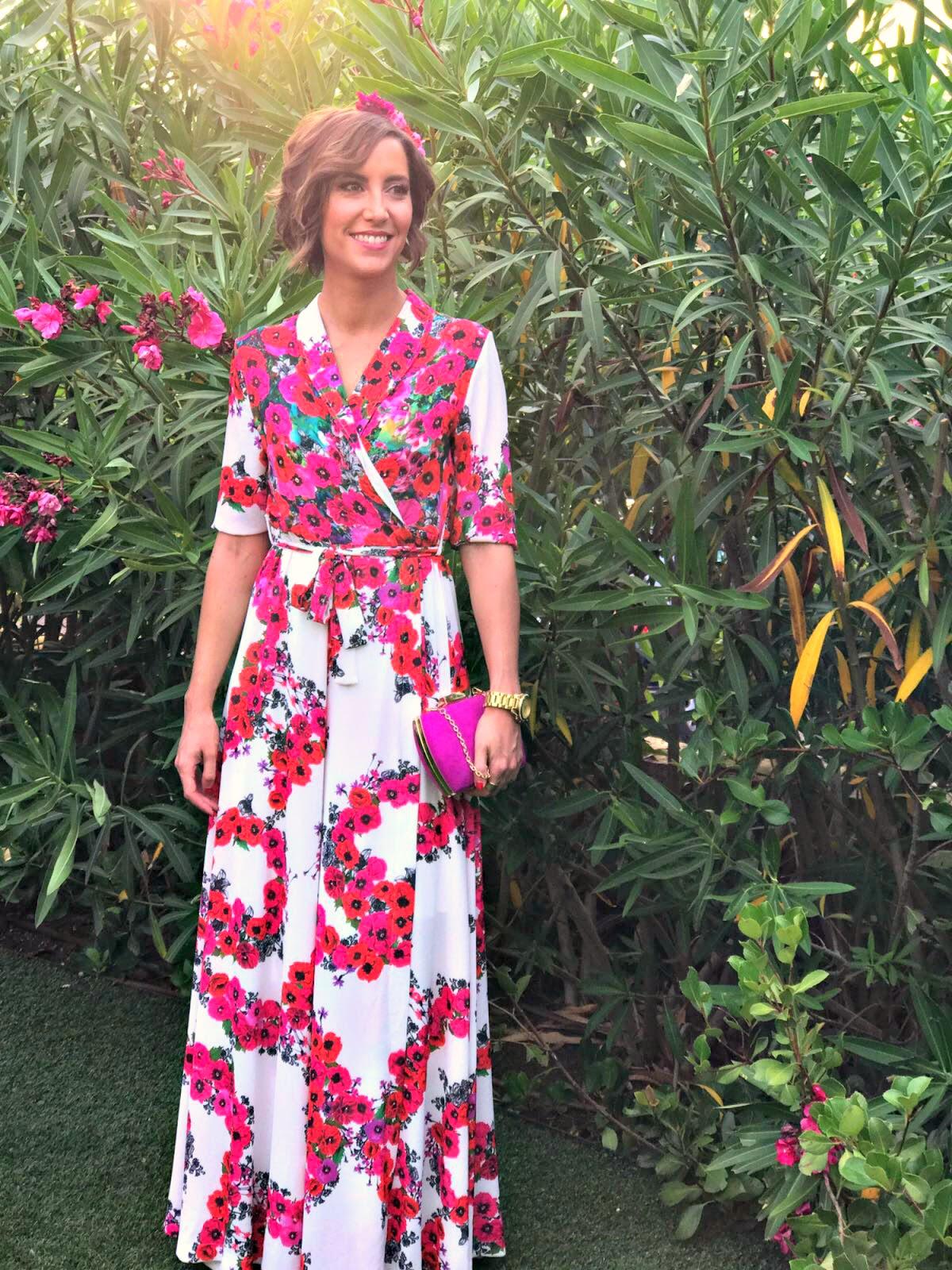 Moderno Vestidos Invitado A La Boda De Flores Galería - Ideas de ...