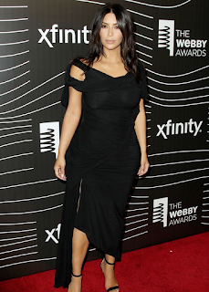 Kim Kardashian gets the first ever award for Breaking The Internet at the Webby Awards. Details at JasonSantoro.com