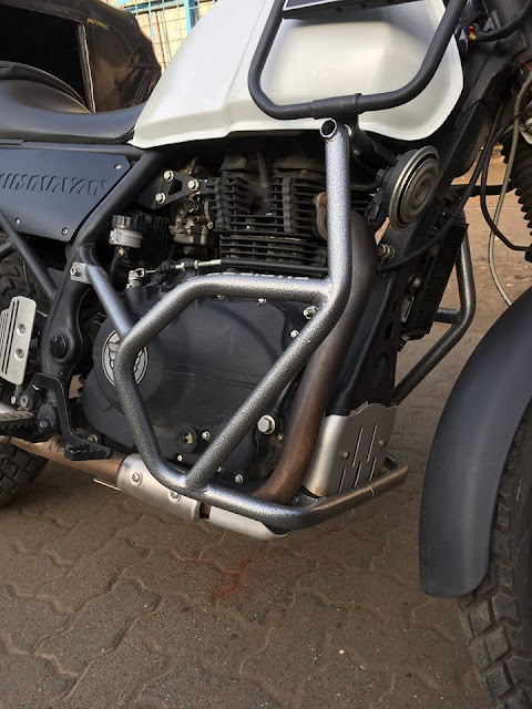 Crash Guard By Royal Enfield Himalayan by A4 Moto Designs
