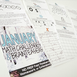 https://www.teacherspayteachers.com/Product/January-Math-Challenges-Brainteasers-Winter-Themed-Fast-Finishers-Extensions-2931951