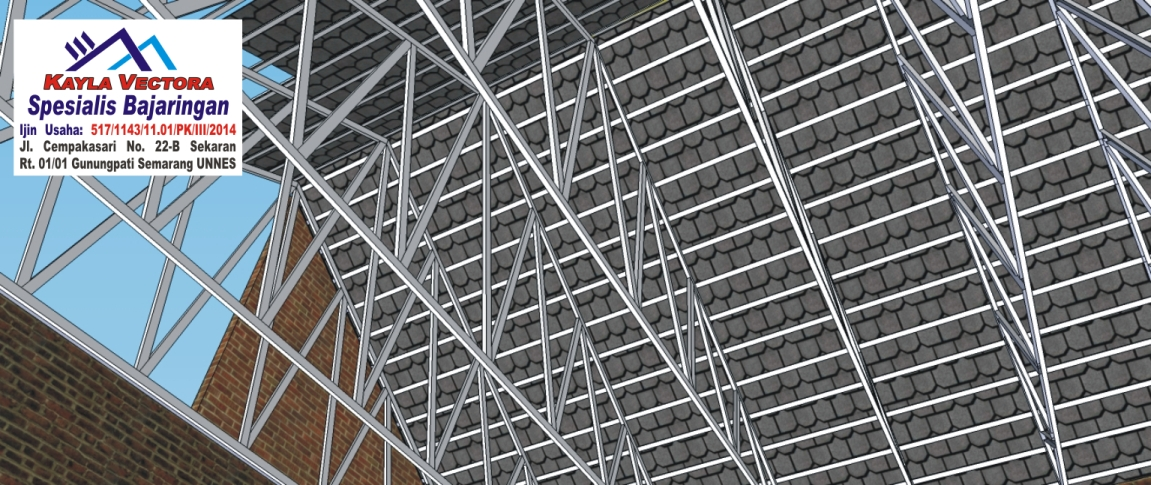 harga baja ringan taso di semarang atap