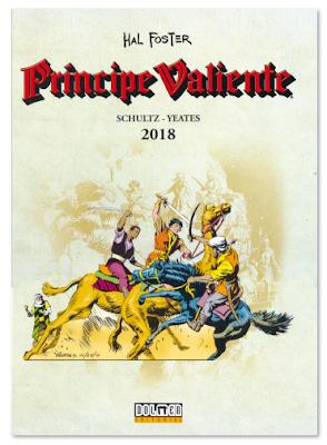 cómics PRÍNCIPE VALIENTE de Schultz y Yeates, edita Dolmen