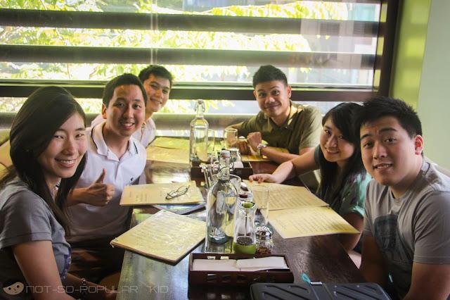 Keshia Ong, Renz (me), Robie Reyes, JD Castillo, Pam Chua and TJ Palanca