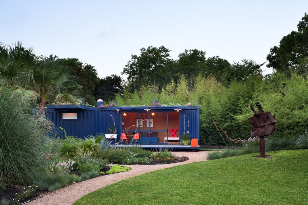 Best Prefab Modular Shipping Container Homes Green Roof
