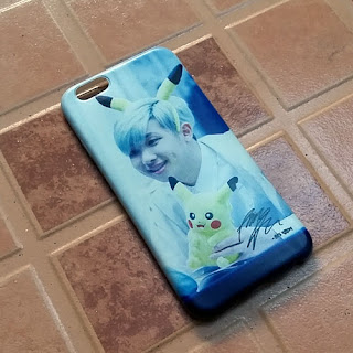 custom case BTS Rap Monster