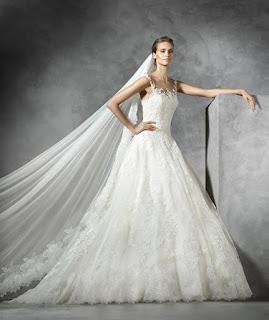 tendances robes de mariée 2016
