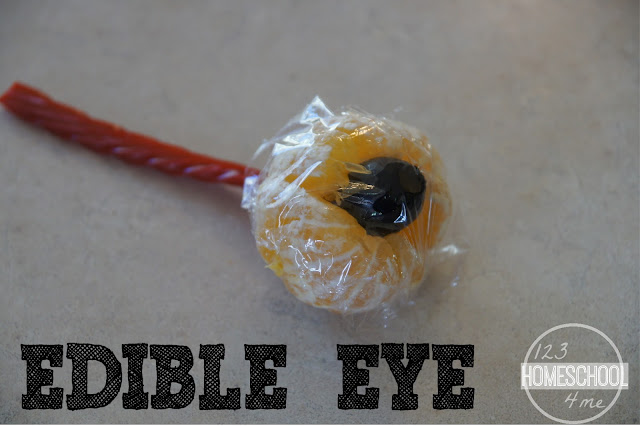 Edible Eye Science Project for Five Senses