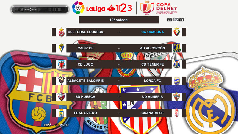 PES 2013 Custom Calendars (LaLiga and EPL) by Estêvão
