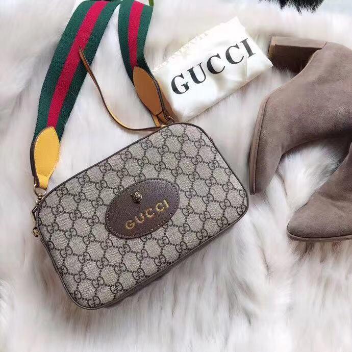 f286bf145eac WE Do Love Luxury: GUCCI GG Supreme Messenger Bag Style 476466 ...